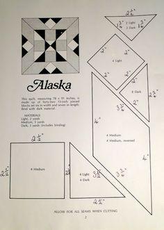Alaska quiltblock