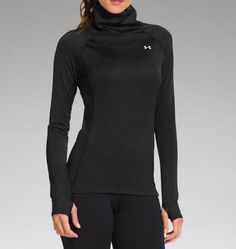 Women's ColdGear® Cozy Neck I love the big neck. This looks like a must-have for the winter.