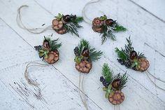 magaela / Set šiestich vianočných ozdôbok