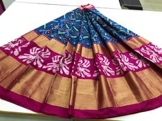 Indian Handloom Sarees and Silks Pochampally Sarees, Ikkat Saree, Handloom Saree, Lehenga Choli, Sari, Indian Skirt, Pure Silk Sarees, Pure Products, Festivals
