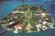 Star Island, Miami Beach were we rented wave runners and toured the island where all kinds of celebs reside!
