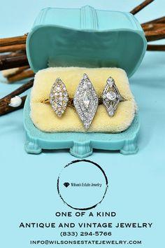 Art Deco Jewelry, Cute Jewelry, Jewelry Accessories, Jewelry Design, Antique Wedding Rings, Antique Engagement Rings, Antique Jewelry, Vintage Jewelry, Victorian Art