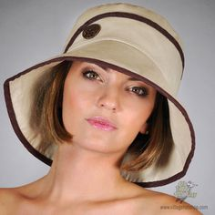 This bucket hat shades eyes and impresses onlookers with its fine linen  blend 275f08a27ed8