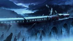 Conceptual art for the Harry Potter series - by Adam Brockbank