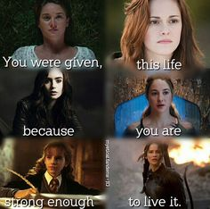 I love the fourth one Tris from Divergent Girl Power Quotes, Girl Quotes, Movie Quotes, Book Quotes, I Love Books, Books To Read, Image Triste, Fandom Quotes, Harry Potter Jokes