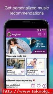 تطبيق أنغامي Anghami للاستماع أفضل الموسيقى للاندرويد وايفون 2016