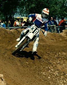 Jim Gibson - Vitrolles (F) WC 125cc - 1983
