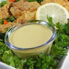 Yummy Honey Mustard Dipping Sauce