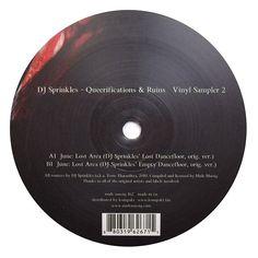 """DJ Sprinkles: Queerifications & Ruins Vinyl Sampler 2 12"""""""