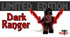 We just released a new limited edition custom minifigure today – The Dark Ranger.  He features: Custom Printed Face Custom Printed Torso Custom Printed Legs 2x Limited Edition Dark Red Dragon Swords Black Scythian bow Black Ranger Helm Note: VERY limited quantities of these were produced. Once we run out, they're gone forever. -  #Lego #Minifigure #BrickWarriors #dark #ranger #custom #printed #sword #weapons