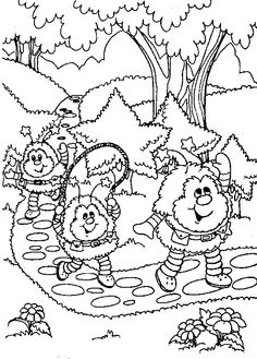 Rainbow brite Coloring Pages Online | related coloring pages free fun printable coloring pages arts and ...