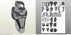 Foamcraft .pdo file template for Mass Effect -N7 Full Armor Male +FOAM+.