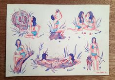 A4 (29.7 x 21 cm) Watercolour flash sheet. Sold unframed, contact me for framed shipping (Australia) or pickup (Melbourne) options. ALL NEW ORDERS SHIPPING AFTER OCTOBER 15
