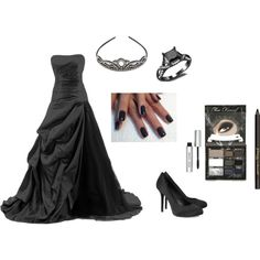 """Dark Princess"" by paint-the-roses-red on Polyvore"