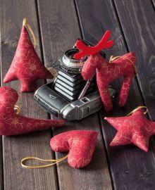 Świąteczne dekoracje. Autor: MYK STUDIO. Do kupienia w atelio.pl. #decoration #christmas #deer #handmade #madeinpoland