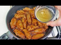 Najchutnejší a najrýchlejší recept na kuracie krídla v pive - varte naraz. - YouTube