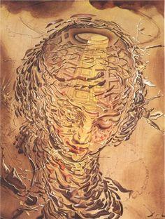 Salvador Dali, Raphaelesque Head Exploding, 1951
