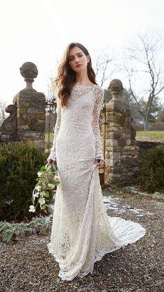 9db263dd679d 537 Best Long Sleeved Wedding Dresses images in 2019 | Alon livne ...