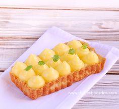 Dulces bocados: Tarta con crema de limon