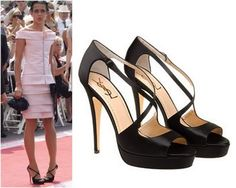 Charlotte Casiraghi's YSL shoes