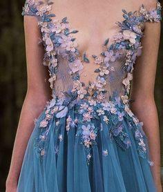 Imagem de dress, fashion, and flowers