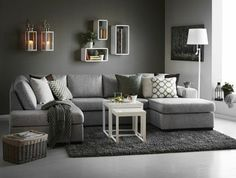 30 Affordable Apartment Living Room Design Ideas On A Budget - Knowing how to design a better living room can be cost-effective in the long run. When you understand the trick of living room design, the amount of money you can save is incredible. There wi Room Design, Small Room Design, Apartment Living Room, Grey Carpet Living Room, Living Room Carpet, Trendy Living Rooms, Living Room Grey, Living Decor, Gray Living Room Design