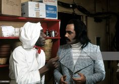 e87c8517bfd Actors Julius Harris and Ron O Neal in a scene from the Warner Bros.