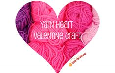 One of my favorite Valentine crafts from Family Fun magazine! Instead of a dozen roses make a dozen yarn hearts and hang them up to decorate your home! Valentine Crafts, Valentines, Family Fun Magazine, Dozen Roses, Crafts To Make, Decorating Your Home, Holiday Ideas, Hearts, My Favorite Things