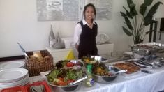 Friendly staff servicing your party guests. Cheap Catering, Affordable Catering, Catering Menu, Catering Companies, Spit Roast Catering, Buffet, Party Needs, Party Guests, Gourmet