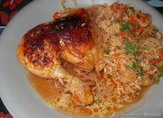 Kurczak pieczony na ryżu Food And Drink, Turkey, Chicken, Meat, Turkey Country, Cubs