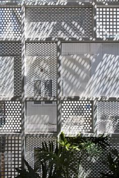 3x10 House / DD concept perforated metal different panel patterns