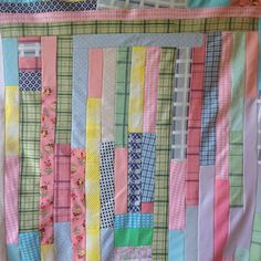 Vintage Retro Strip Quilt Hippie Cool & Funky ~ Polyester Knit Fabrics