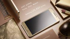 Samsung Galaxy Alpha ya es oficial