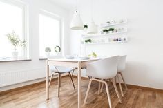 The pure beauty of an apartment featuring a Nordic interior