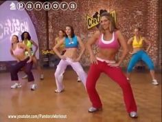 Dance Fitness Aerobic Workout To Lose Belly Fat - 40 Minutes Class Easy and Fun - YouTube