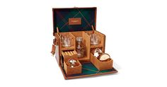 A Polo Bar kit filled with drinks-making essentials. Ralph Lauren, Kit, Drinks, Essentials, Polo, Design, Drinking, Beverages, Polos