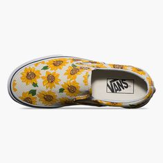 ec7e8f6947b1c7 VANS Sunflower Classic Womens Slip-On Shoes Vans Original