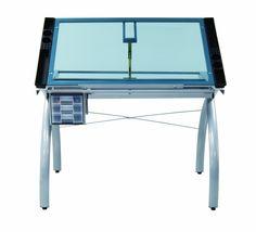 Amazon.com: Studio Designs 10050 Futura Craft Station, Silver/Blue Glass