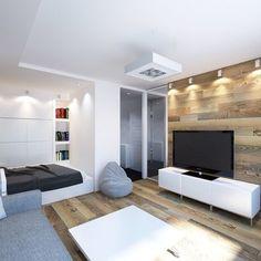 Фотография:  в стиле , Декор интерьера, Малогабаритная квартира, Квартира, Студия – фото на InMyRoom.ru