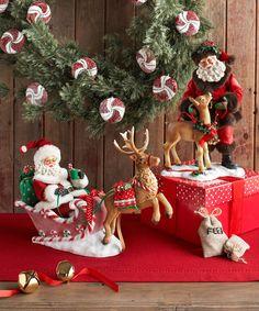 "Department 56 Possible Dreams ""Traditions"" Santas 2013 www.department56.com shop.department56.com"