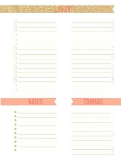 daily to do list planners bullet journals pinterest. Black Bedroom Furniture Sets. Home Design Ideas