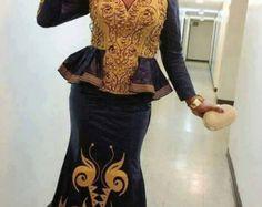 Robe africaine coloré par NewAfricanDesigns sur Etsy