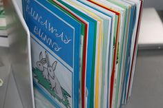 Before Five in a Row Lap Journals...a great way to store our lap books and work completed!!!