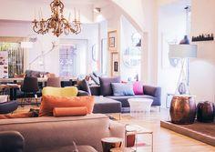 Neuer Flagshipstore für Freistil in der Leonhardstraße: die junge Sofa-Linie von Rolf Benz. Dazu passend sind die Designerstühle und Esstische. Design Shop, Sofa, Couch, Designer, Shopping, Furniture, Home Decor, Graz, Line