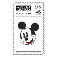 Disney Mickey Mouse Face Stamp