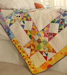 Free Quilt Patterns for Bed-Size Quilts and Throws