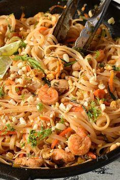 Try this best,spicy,simple and easy authentic pad thai recipe,with vegetables,shrimp,eggs and chicken,with easy authentic pad thai sauce.This recipe of homemade thai food is the best and better than any restaurant or takeout menu.The best pad thai noodles you can try at home. #savorybitesrecipes #padthairecipe #thaifood #padthainoodles #shrimp #chicken #ricenoodles #padthaisauce #dinnerrecipes #easyrecipes Easy Thai Recipes, Seafood Recipes, Asian Recipes, Vegetarian Recipes, Cooking Recipes, Pad Thai Noodles, Asian Noodles, Rice Noodles, Shrimp Pad Thai