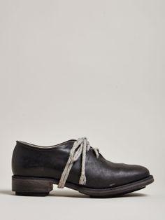 Cherevichkiotvichki Women's Horsehide Round Toe Derby Shoes