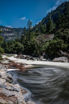 Merced River ~ Yosemite National Park