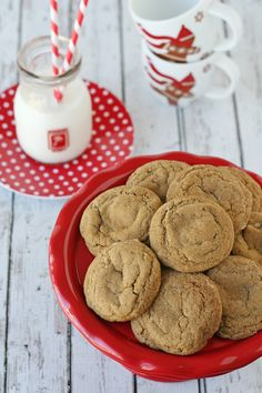 Chewy Ginger Molasses Cookies These soft and chewy cookies have a delicious balance of spices.  Yield: Makes apx. 24 cookies ingredients: 2 ...
